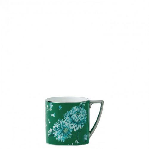 Jasper Conran Chinoiserie Green Mini Mug, Gift Boxed